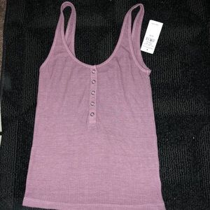 Ribbed Tank from American Eagle